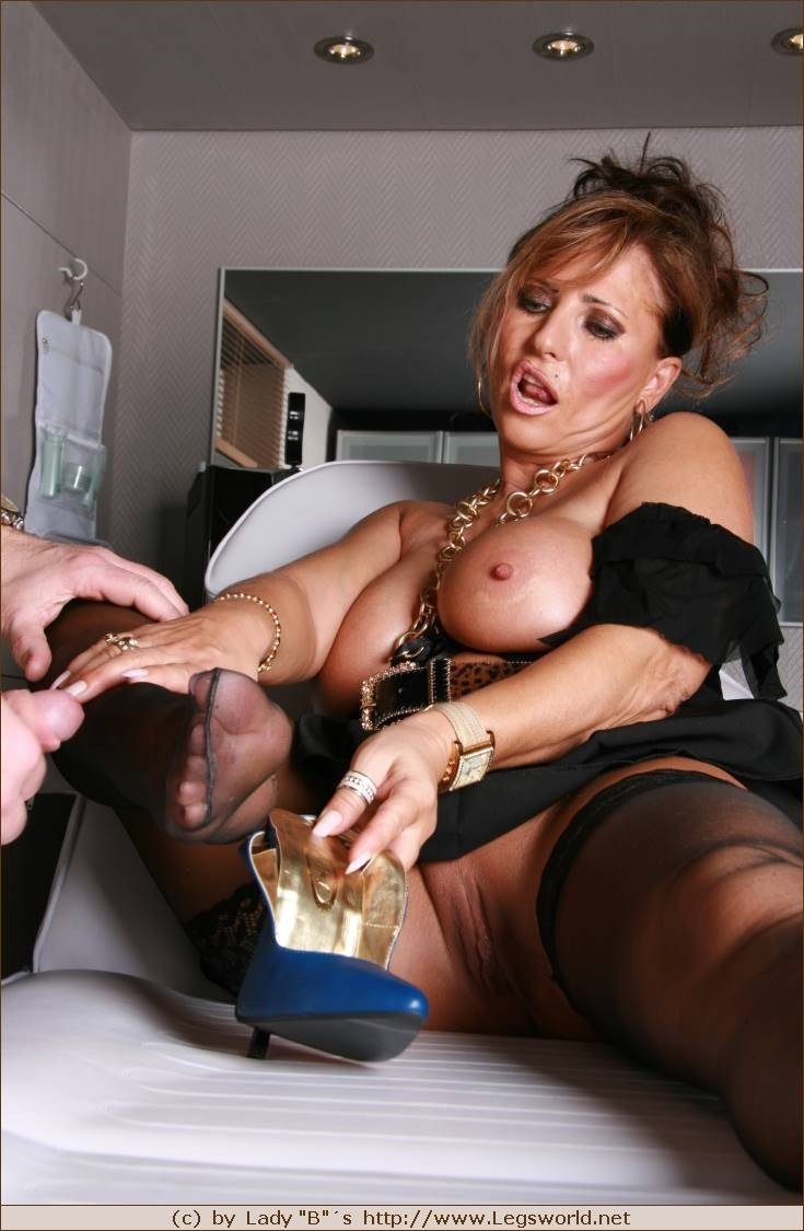 Barbara nylons lady Mistresses of