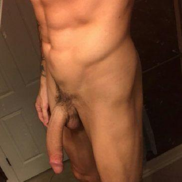 Mr. P. reccomend Guy holding his huge dick