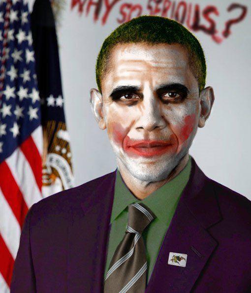Joker obama face