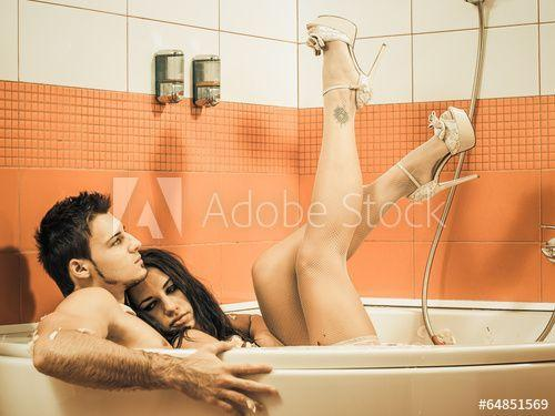 Cobalt reccomend Man and woman sexy in bathtub