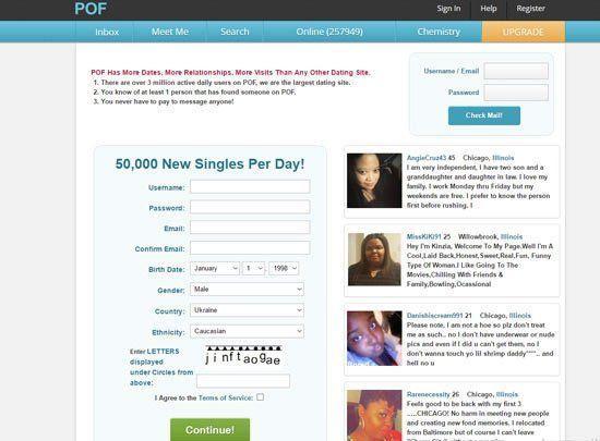 Thunder reccomend Plentyoffish com dating site