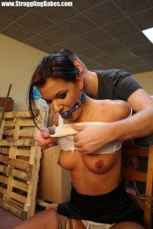 Horny girls tied up