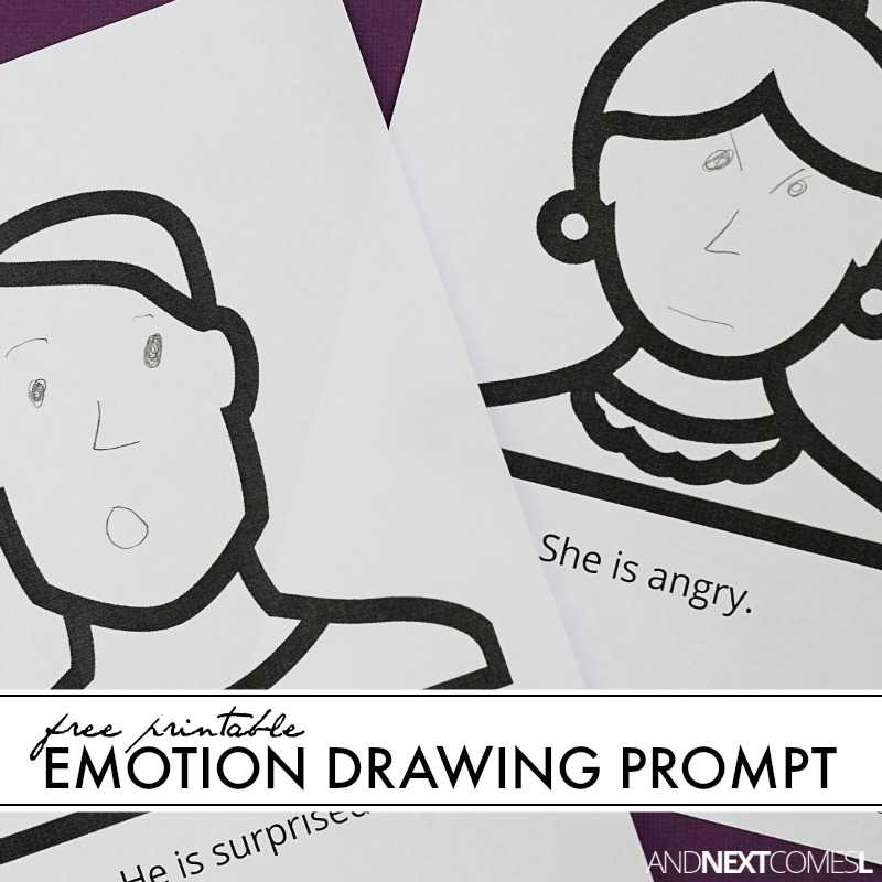 Red S. reccomend Free facial drawings showing different emotions