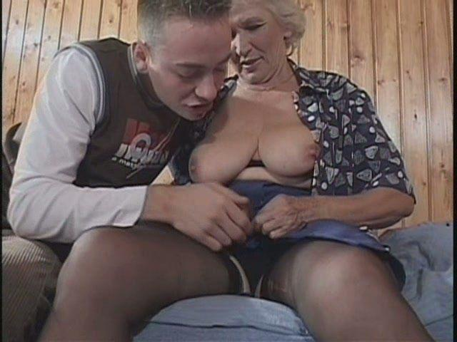 Old granny sex with