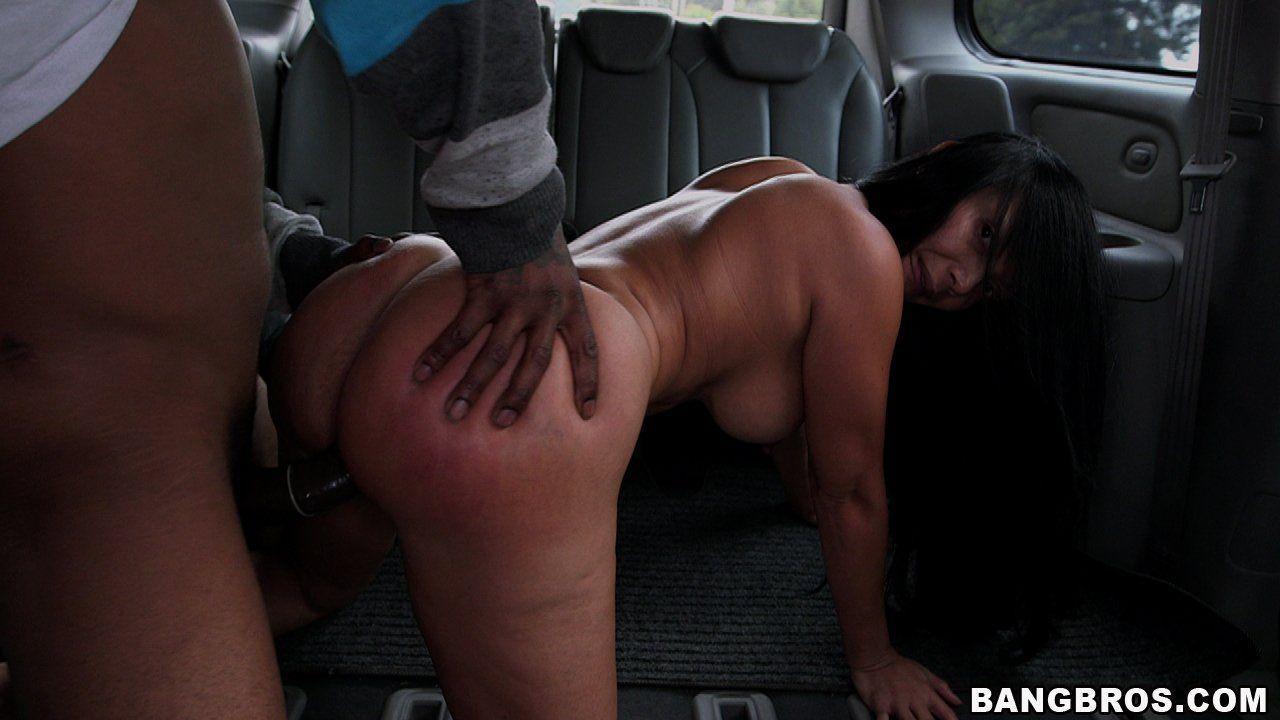 BANGBROS The BangBus in Colombia Fucking A Big Booty Latina MILF