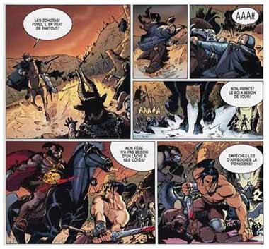 Erotic superhero comics
