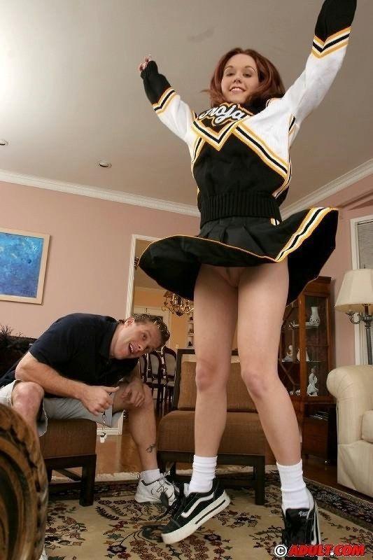 cheerleader auditions porno