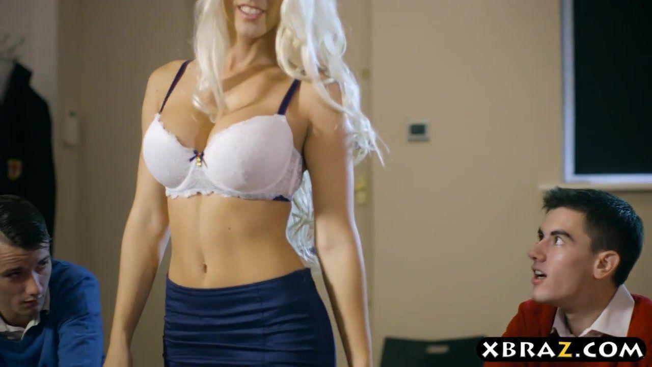Hot teacher porn video