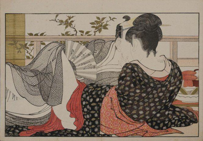 Japanese erotic portraits