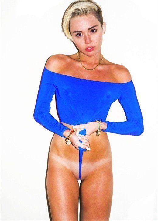 Nude cyrus Miley Cyrus